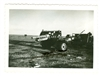 25 Pounder Gun and Limber, North Africa, Original WW2 Photo
