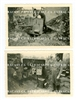 Captured British 2 Pounder Gun Emplacement, 2 photo set, France 1940, Original WW2 Photos