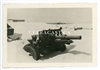 25 Pounder Gun on the Beach, Dunkirk, France 1940, Original WW2 Photo