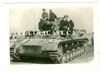 German Panzer IV and Crew, France 1940, Original WW2 Photo
