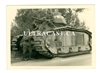 "Captured French Char B Tank Named ""Bourgueil"" No. 355, France 1940, Original WW2 Photo"