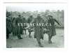 French Prisoners of War Carrying a Wounded Comrade, Original WW2 Photo
