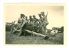 German 5 cm Anti-Tank Gun and Crew, Original WW2 Photo