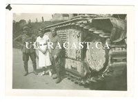 "French Char B Tank Named ""Tornade"" No. 266, France 1940, Original WW2 Photo"