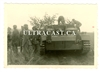 German Soldiers with StuG III Assault Gun, Original WW2 Photo
