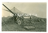 10 cm Gun under Camouflage Net, Original WW2 Photo