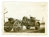 German 15 cm Gun and Limber, Original WW2 Photo