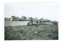 Large German Stereoscopic Rangefinder, Original WW2 Photo