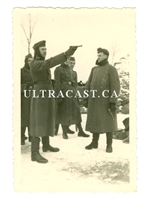German Soldiers Firing Lugers, Original WW2 Photo