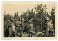 German Soldiers Guarding Captured Polish Troops, Poland 1939, Original WW2 Photo