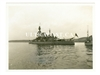 Swedish Battleship Gustaf V, Original WW2 Era Photo