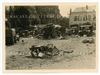 Captured British Trucks and Motorcycle, France 1940, Original WW2 Photo