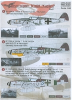 "Print Scale 48-103 - Messerschmitt Bf-109K ""Kurfurst"", Part 1"