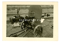 Soviet 12.7 mm DShK Heavy Machine Gun, Original WW2 Photo