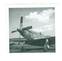 "P-51 Mustang Named ""Grosse Ile"", WW2 era, Original Photo"