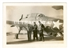 Grumman Avenger and Crew, Original WW2 Era Photo