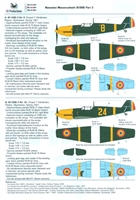 RB-Productions RB-D48014 - Romanian Messerschmitt Bf 109E, Part 3