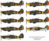 RB-Productions RB-D48022 - Romanian Hurricane Mk. 1