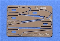 RB-Productions RB-T018 - Contour Saw Set