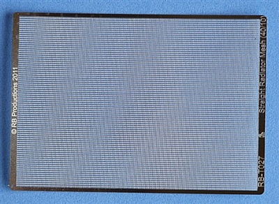 RB-Productions RB-T027 - Straight Radiator Mesh (40/10)