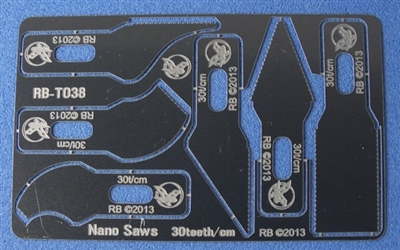 RB-Productions RB-T038 - Nano Saws Set