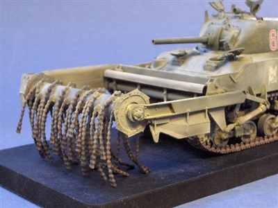 Resicast 351133 - CRAB Mk I Flail Conversion for Sherman M4A4