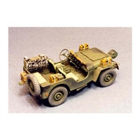 Resicast 351156 - British Airborne Jeep (Signals) Conversion for Tamiya Jeep
