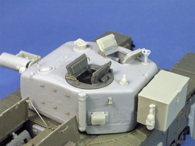 Resicast 351202 - Churchill AVRE Cast Turret with Interior