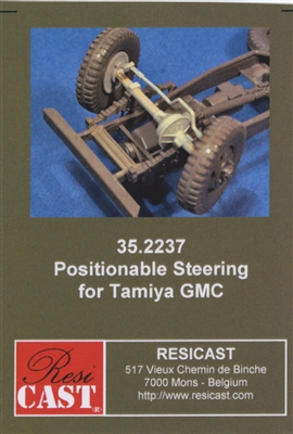Resicast 352237 - Positionable Steering for Tamiya GMC
