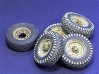 Resicast 352341 - Wheels for Tamiya Chevrolet LRDG