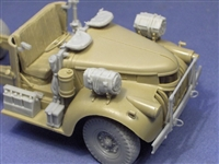 Resicast 352342 - Cab Detail Set for Tamiya LRDG Chevy 30CWT