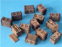 Resicast 352365 - Wooden Ammo Boxes for 3inch mortar