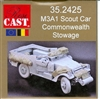 Resicast 352425 - M3A1 Scout Car Commonwealth Stowage