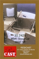 Resicast 352429 - M3A1 Scout Car Detail Set