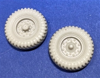 Resicast 352439 - Early Pattern Wheels for Bedford MW (Gecko)