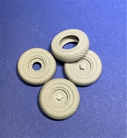 Resicast 352441 - Good Year Wheels for Tamiya LRDG