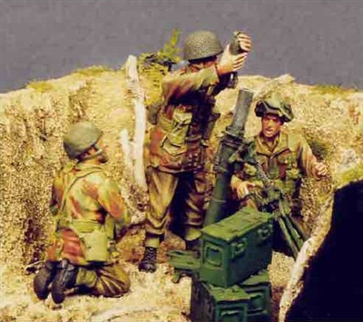 Resicast 35.5509 - UK 3inch Mortar and Airborne Crew