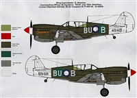Red Roo RRD48007 - Curtiss Kittyhawk A29-629, BU-B Cleopatra III, P-40N-20, 43-2285