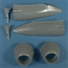 Red Roo RRR48129 - Boston Tropical Cowlings and Exhaust Stacks for B-7B, DB-73, A-20B/C