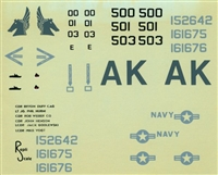 Repli Scale 48-5002 - VA-55 Libyan Raiders A-6E