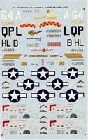 Super Scale 48-1 - P-51 Mustang Aces