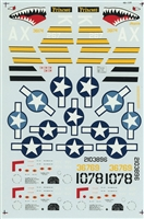 Super Scale 48-0138 - P-51 B/C & F-6B Mustangs