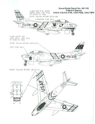 F 86 Super Sabre