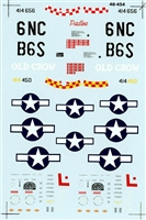 Super Scale 48-454 - P-51 D Mustang Aces