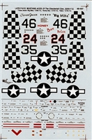 Super Scale 48-497 - Late P-51D Mustang Aces of the Checkertail Clan, 318th F.G.