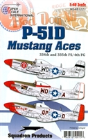 Super Scale 48-1221 - P-51D Mustang Aces