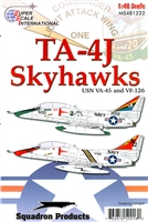Super Scale 48-1222 - TA-4J Skyhawks