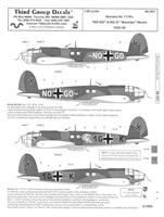 Third Group 48-001 - Heinkel He 111Ps
