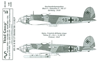 Third Group 48-022 KG 26 & KG 27 Heinkel He 111H/P