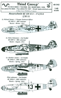 Third Group 48-042 - Messerschmitt Bf 109 #11 - F-2/G-6